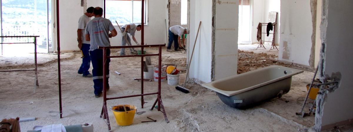 Ristrutturazione cucine, bagni e altro